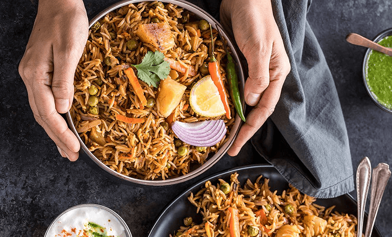 Instant recipe for quick and healthy Indian Pulao