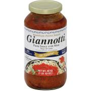 GIANNOTTI PASTE SAUCE WITH MEAT