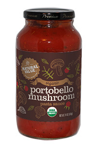 Natural Value Portobello Mushroom Pasta Sauce