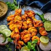 Red Chili Chicken Tikka Kebab