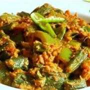Bhindi do piyaza