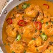 Gongura Prawn Curry